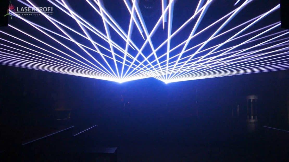 biały kolor w laserach Kvant
