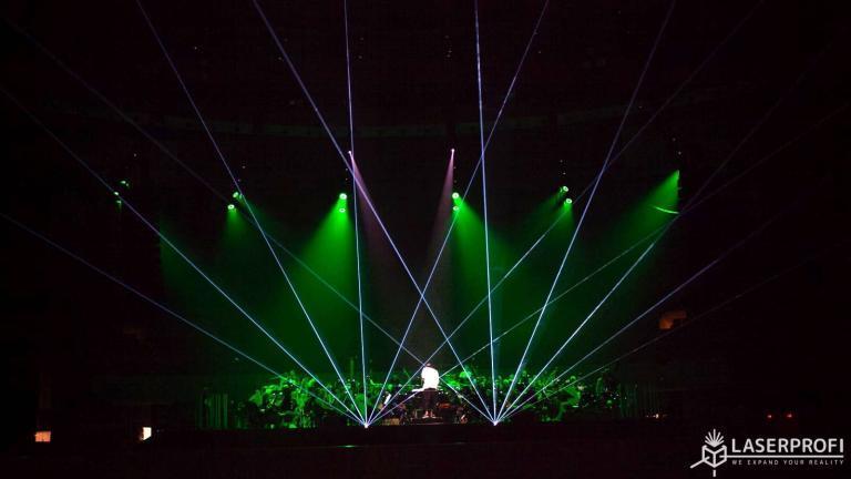 Koncert Radzimir z laserami Wrocław