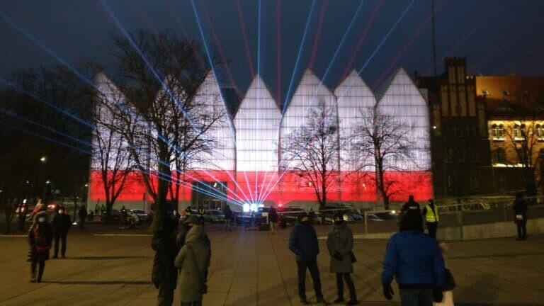 Lasery filharmonia szczecin