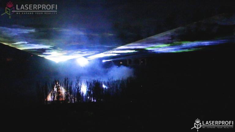 Odbicie laserów w stawie