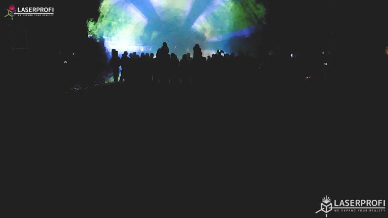 Pokaz laserowy przestrzenny