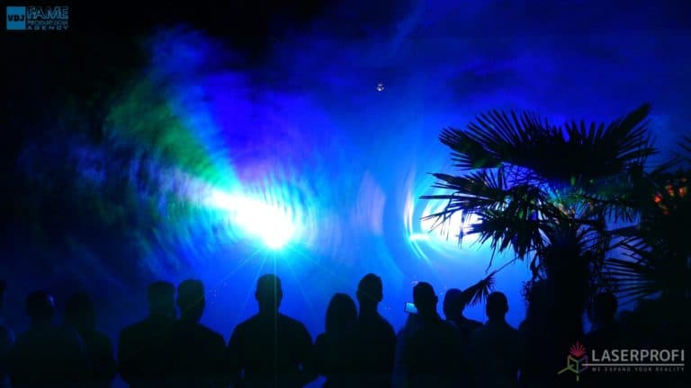 Pokazy laserów wesele grudziądz plaża