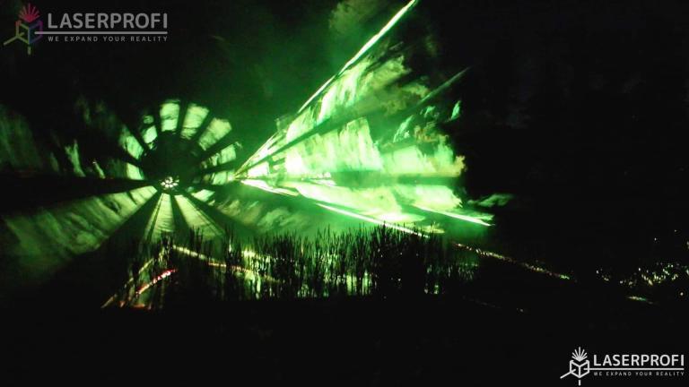 Tunel laserowy wesele