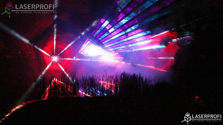 Tunele laserowe czerwone
