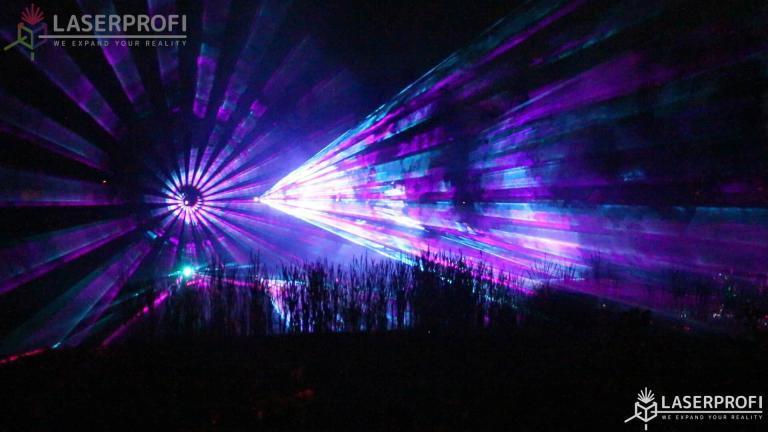Tunele wachlarzy laserowych