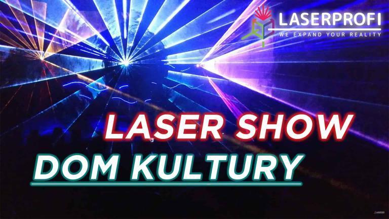 Laser show w domu kultury