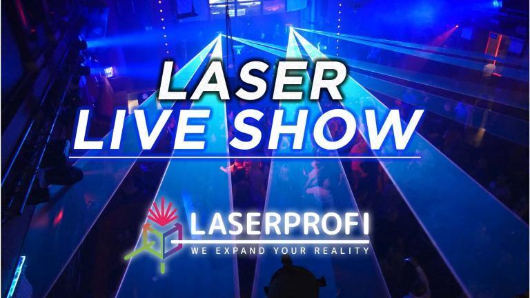 Pokaz laserów (krótka relacja) na żywo w klubie dyskotekowym [LASERPROFI]