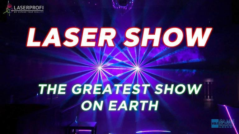 Pokaz laserów (Szczecin) - The Greates Show on Earth [LASERPROFI]