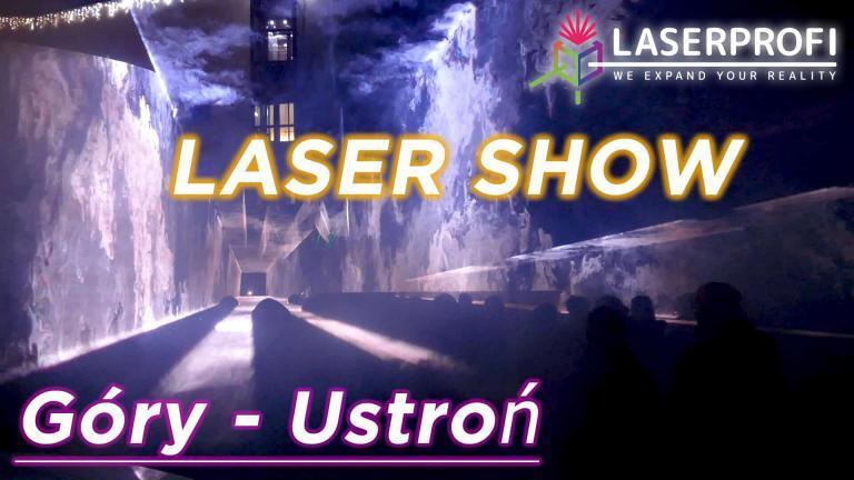 Film do pokazu laserowego w górach