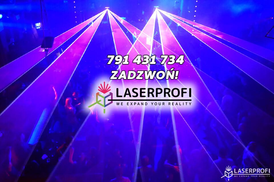 ile kosztuje pokaz laserowy