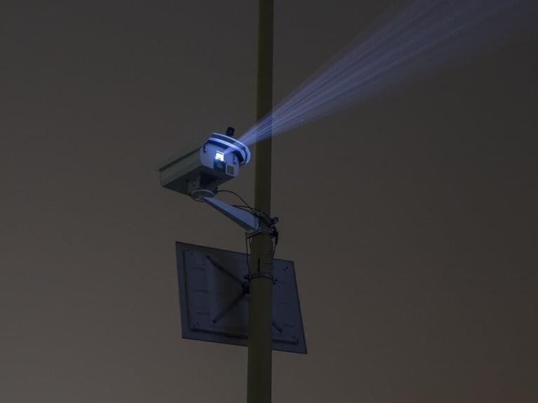 laser do reklamy na zewnątrz