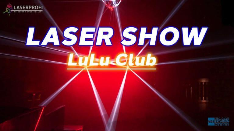 Pokaz laserowy w klubie LuLu w Szczecinie (W&W x Vini Vici Chakra) [LASERPROFI]