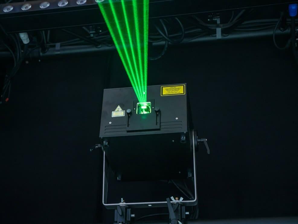 nasz laser kvant clubmax zielony