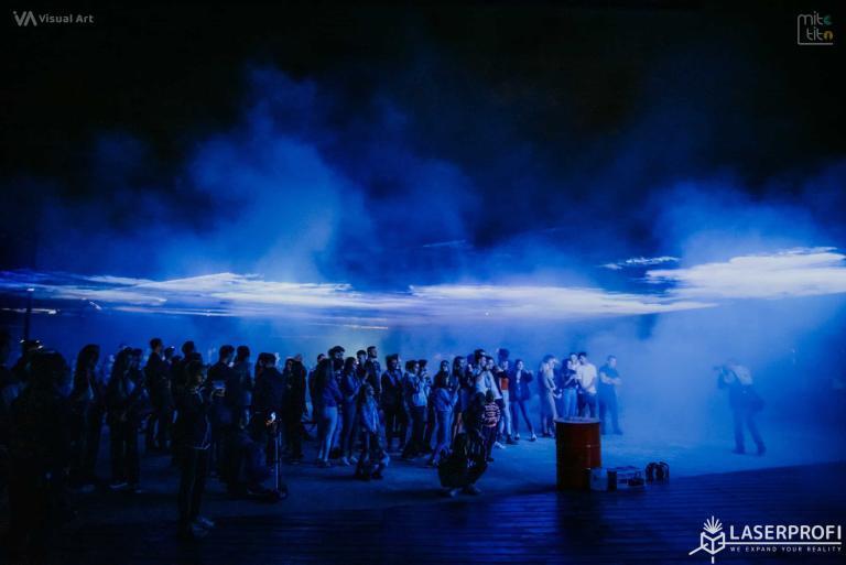 płynne niebo pokaz w Rybniku