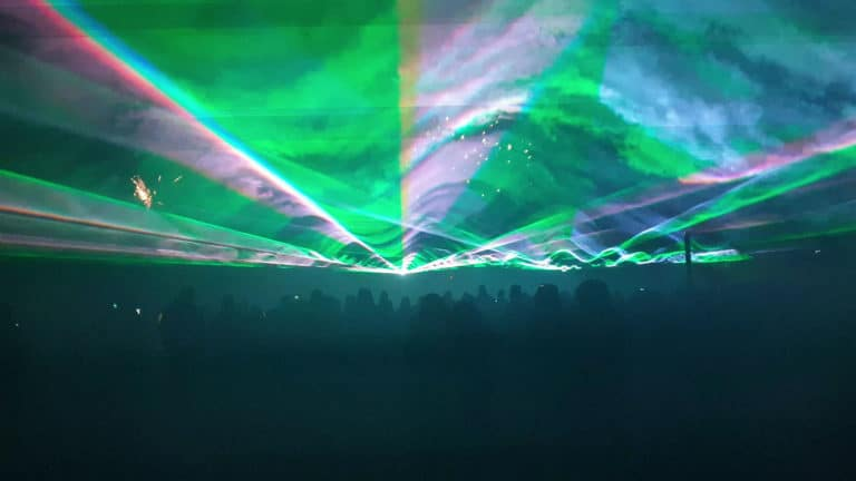 pokaz laserów na sylwestra 2019-2020