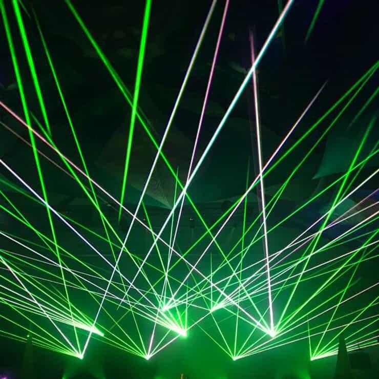 pokaz laserowy cennik