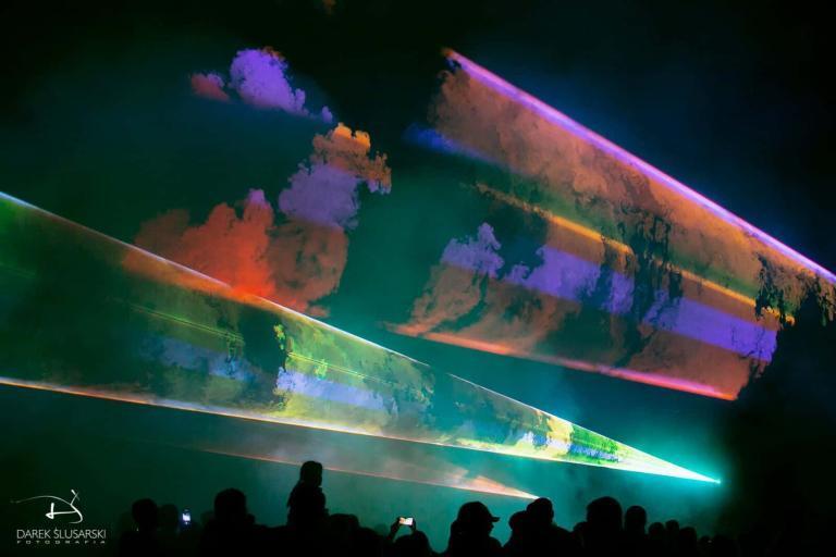 pokaz laserowy swieto gminy wieliszew