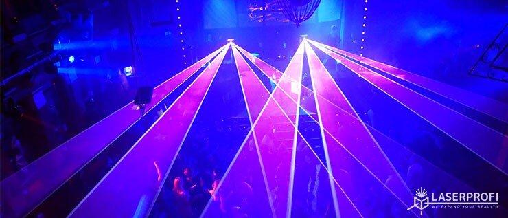 pokazy laserowe na żywo